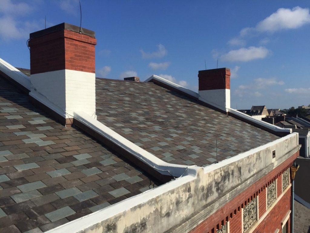 Lower Pontalba Building Roofing & Historic Masonry Restoration & Repair